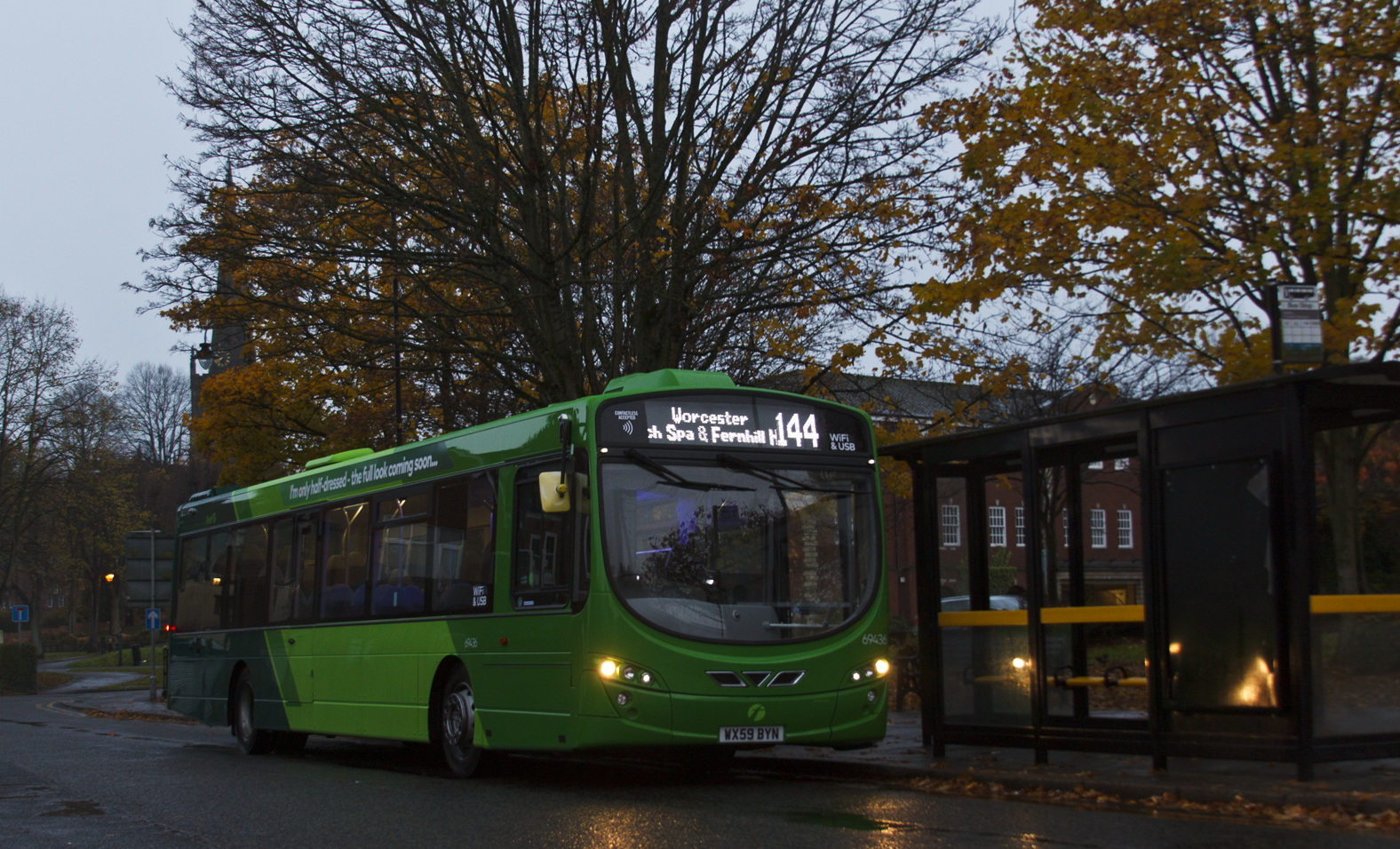 First Midland Red Volvo B7RLE-60 69436