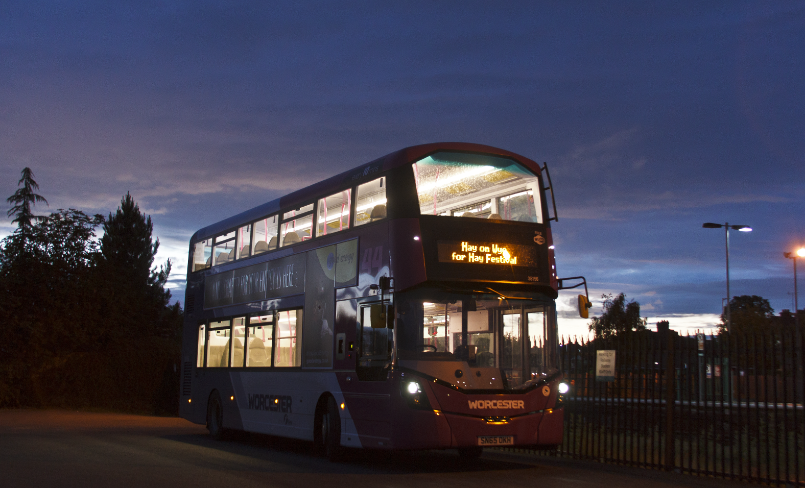 First Midland Red Wrightbus StreetDeck 35156